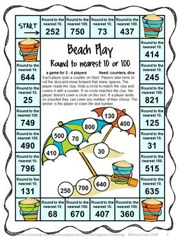 End Of The Year Activities Math Games For Third Grade Summer