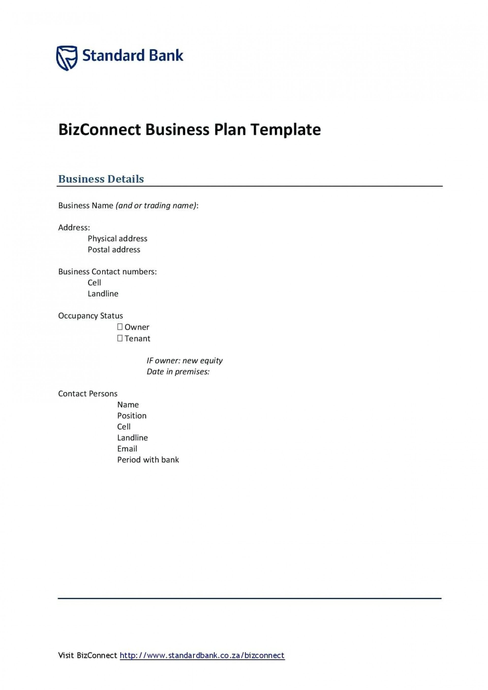 Valid Bank Business Plan Template Business plan template
