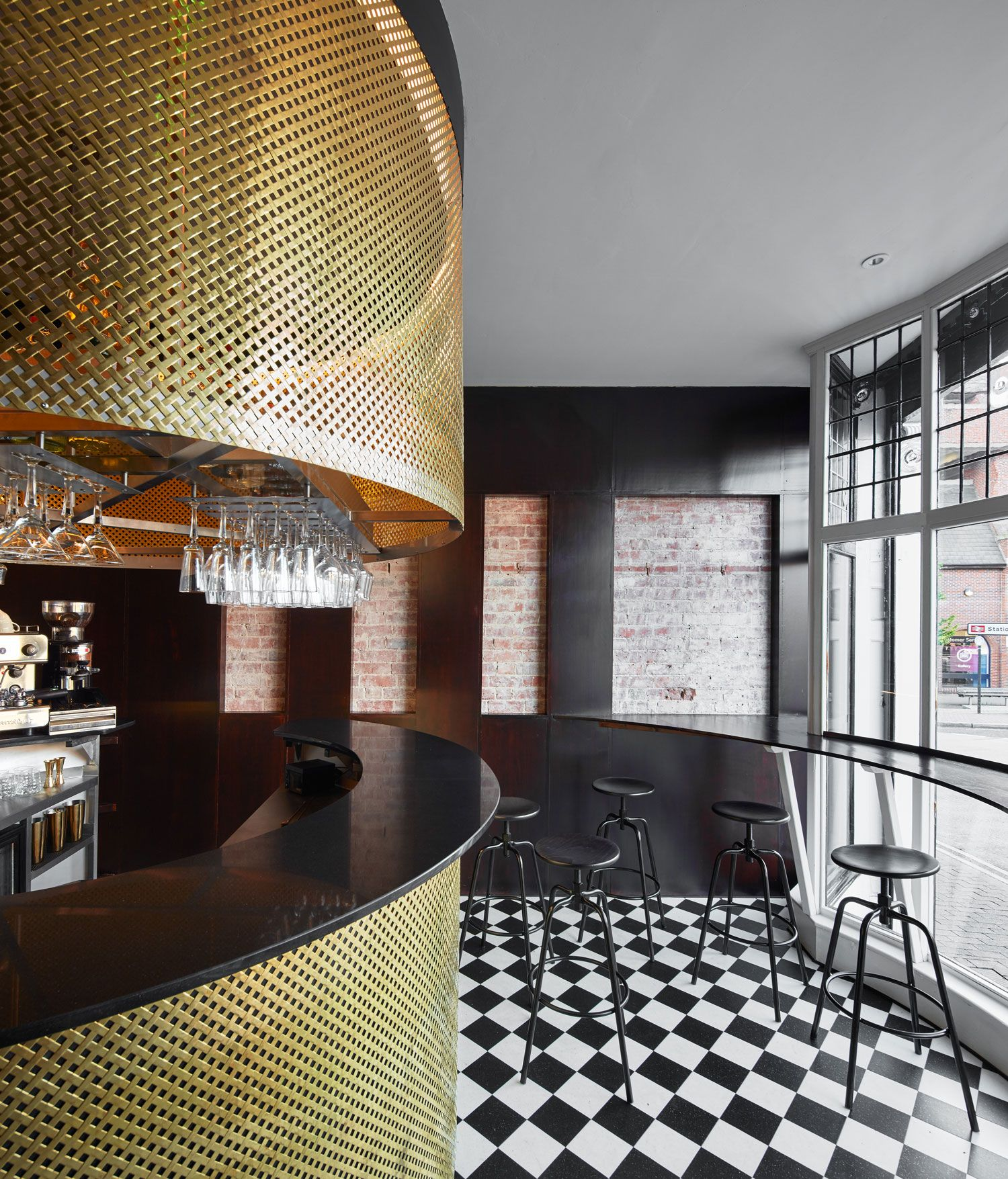 Coco Retro Bistro by 32 mq in Tunbridge Wells, Kent, UK | Pinterest