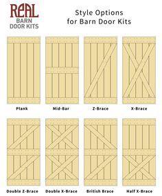 Barn Door Design Plans
