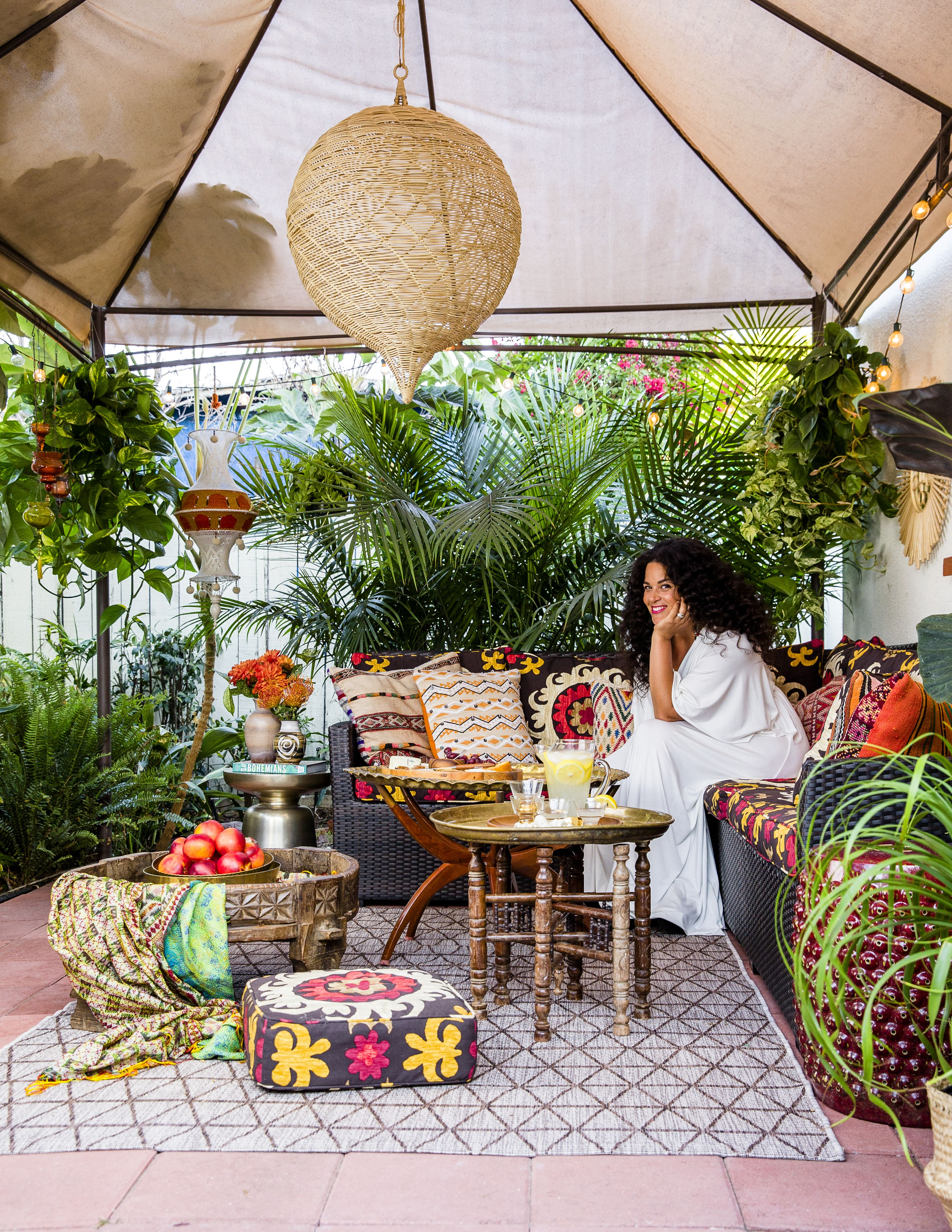 Boho Chic Decorating Ideas Boho Patio Bohemian Patio Patio Decor