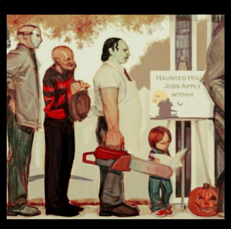 Epic Waiting Line #horror