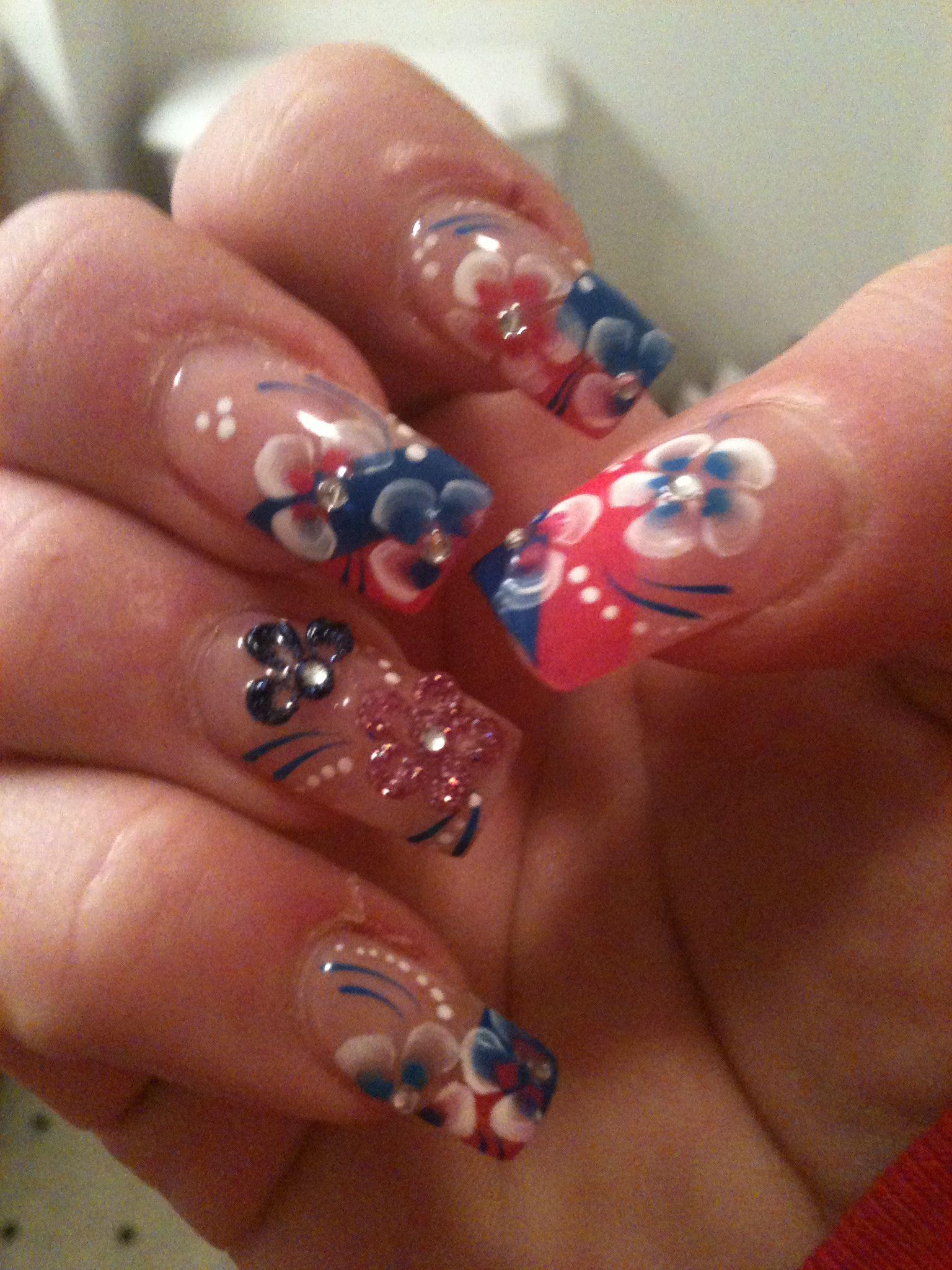 3D nail art   Nails   Pinterest   3d, Nail nail and Creative nails