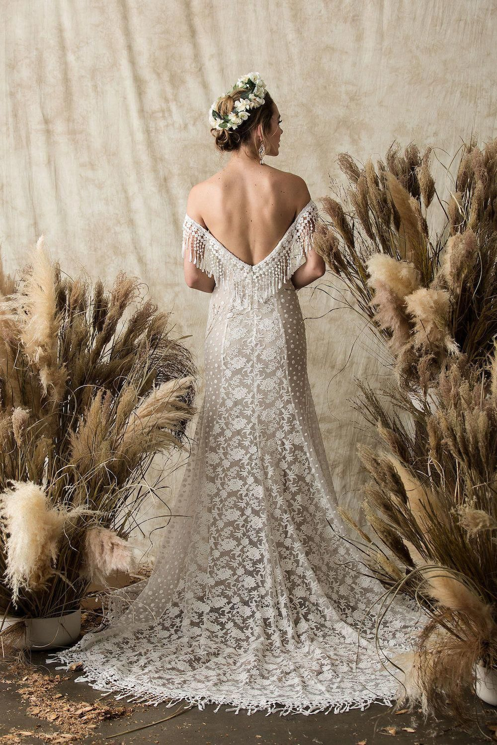 Classic Wedding Dress For Aire Boho Collection 2020