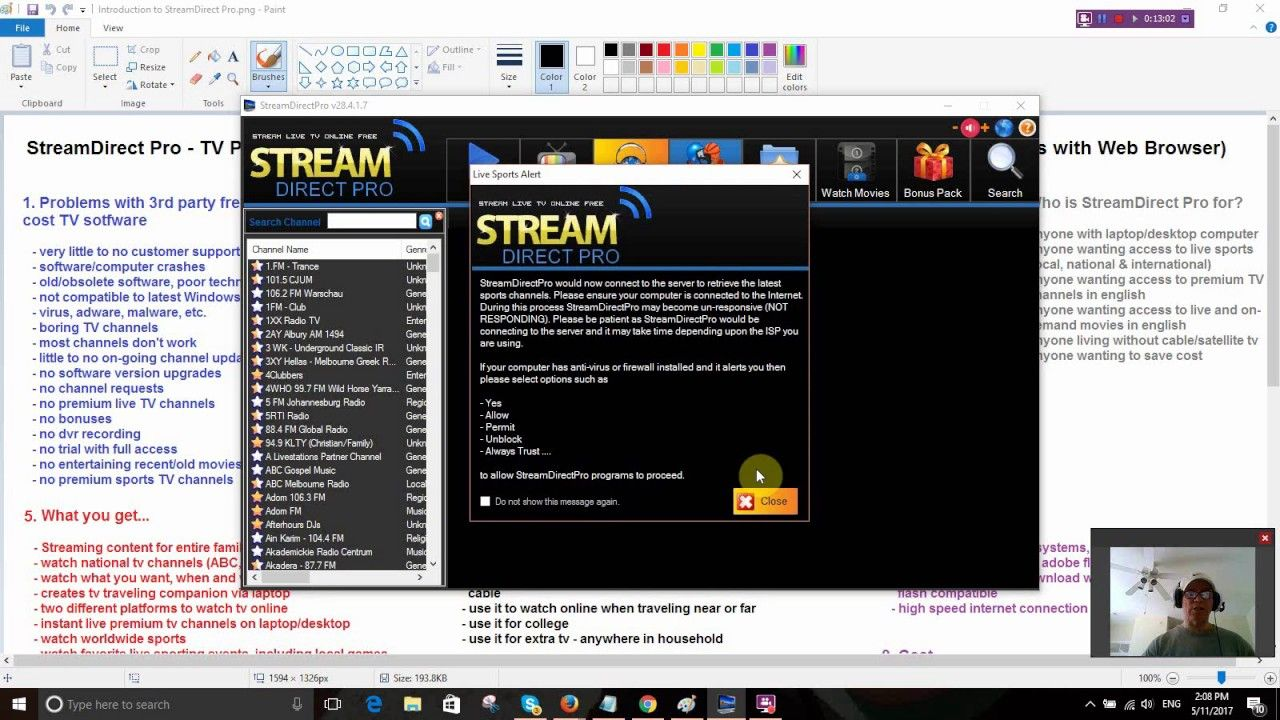 StreamDirect Pro Review Best TV Software for PC