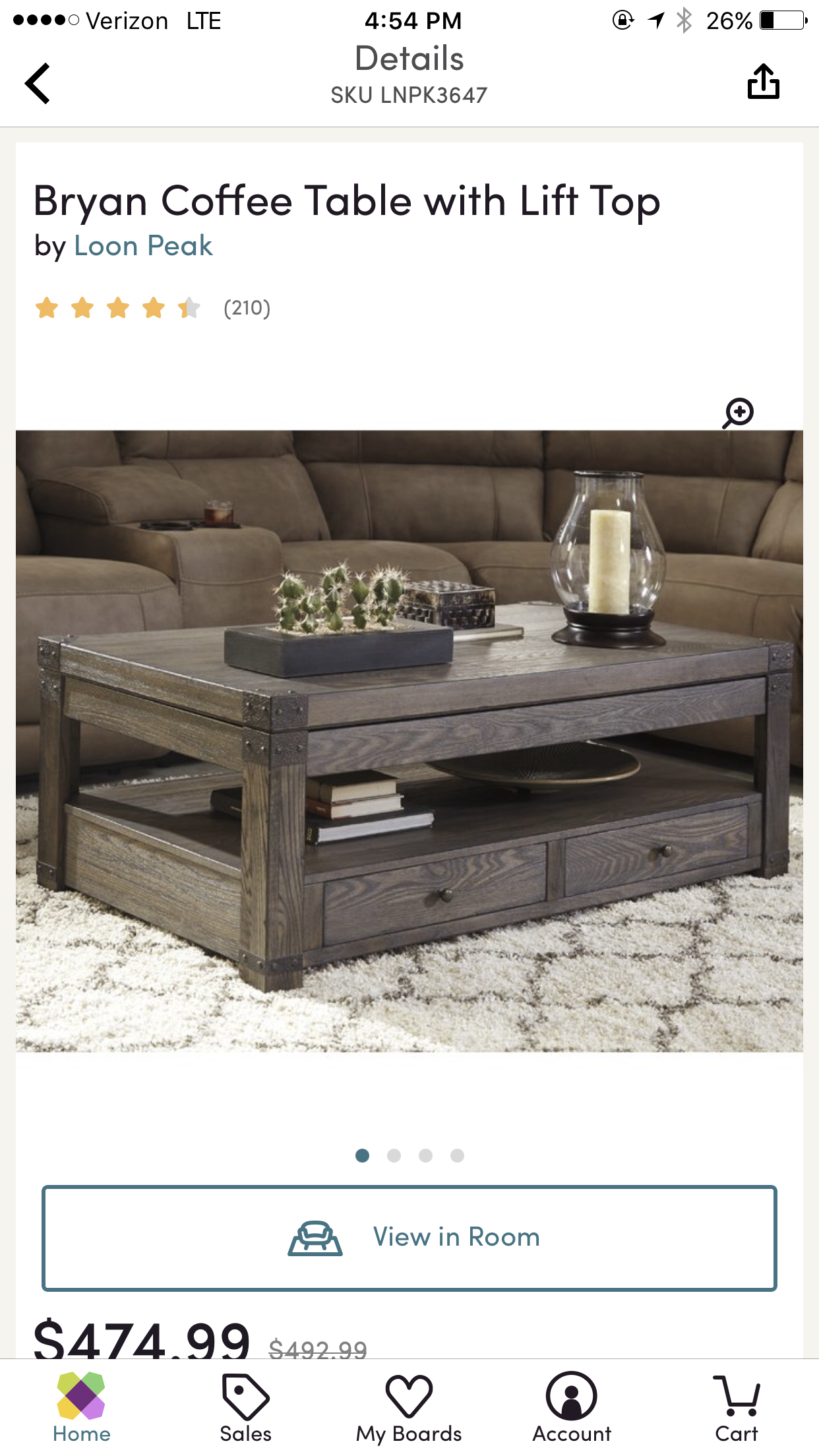 Pin By Maris Huff On Apartment Finds Coffee Table Home Home Decor [ 2208 x 1242 Pixel ]
