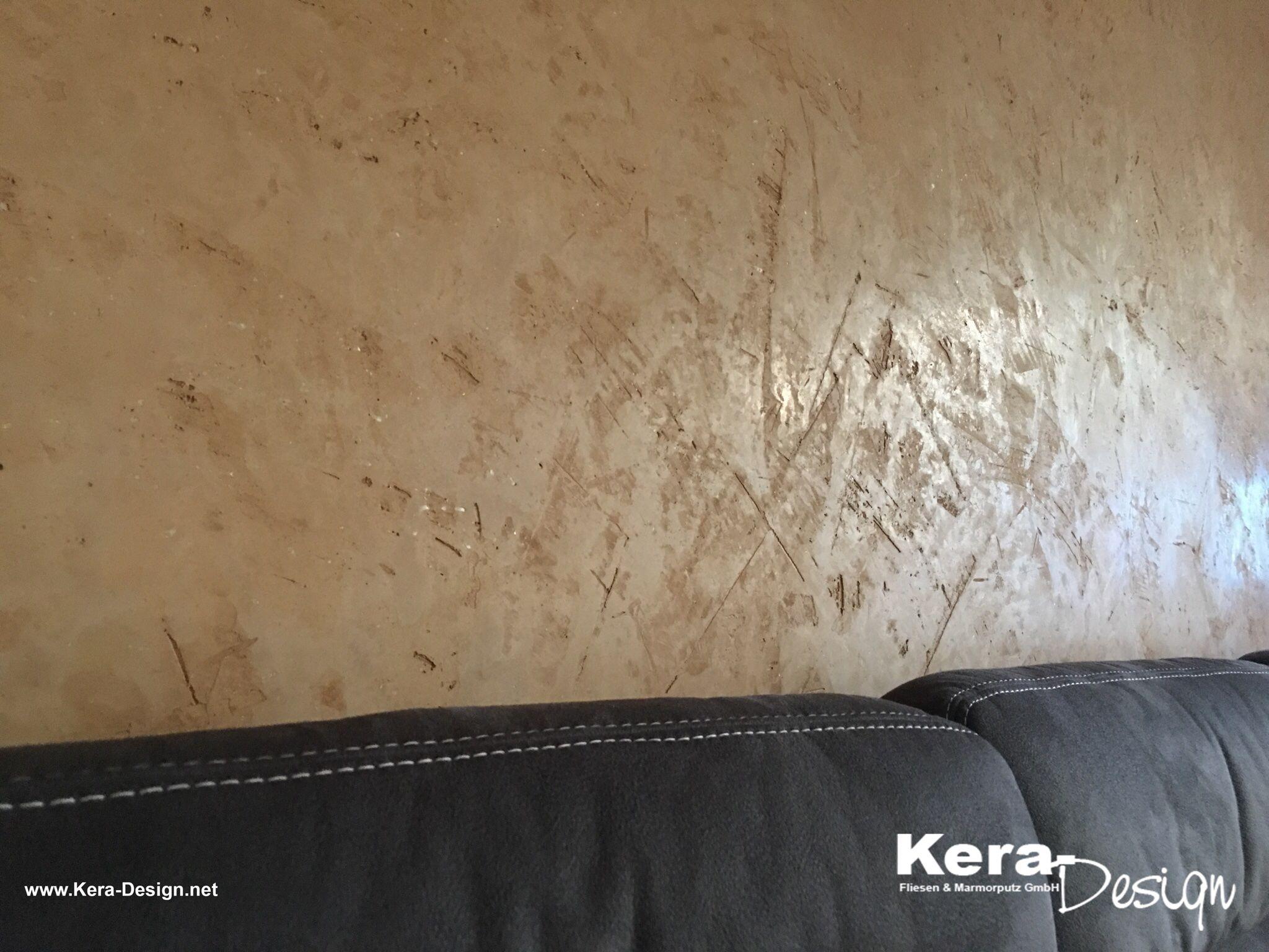 Akzentwand mit Volimea Marmorputz in Braunschweig von KeraDesign Fliesen  Marmorputz GmbH