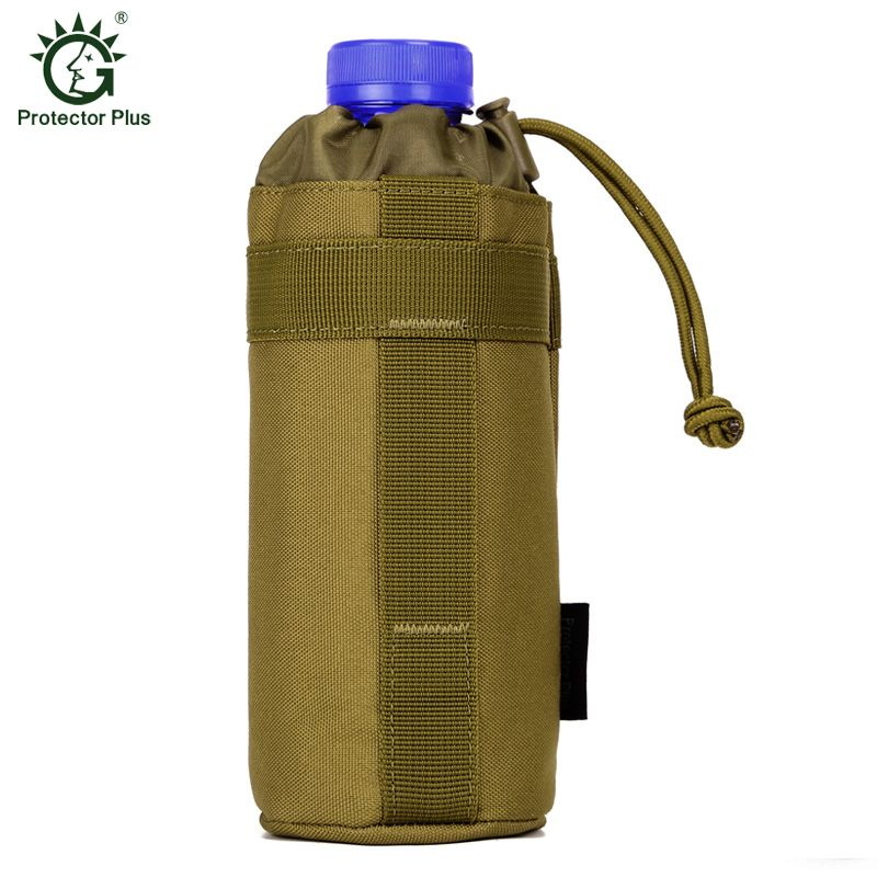 Bottle Sleeve Outdoor Tactical Waist Hanging Water Kettle Carrying Pouch Holder