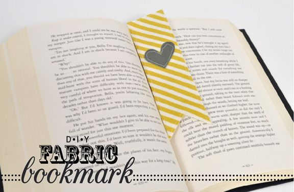 Silhouette Blog: Back To School :: Fabric Bookmarks
