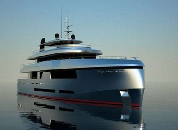 The Construction of the Green Voyager is Officially Underway #yachts trendhunter.com