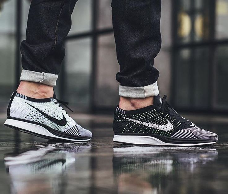 4835c07eed63 Nike FlyKnit Racer Orca   Volt