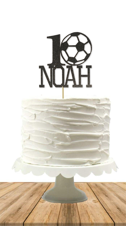 Soccer Cake Topper Soccer Player Soccer Birthday Party Etsy In 2020 Soccer Birthday Parties Soccer Cake Soccer Birthday