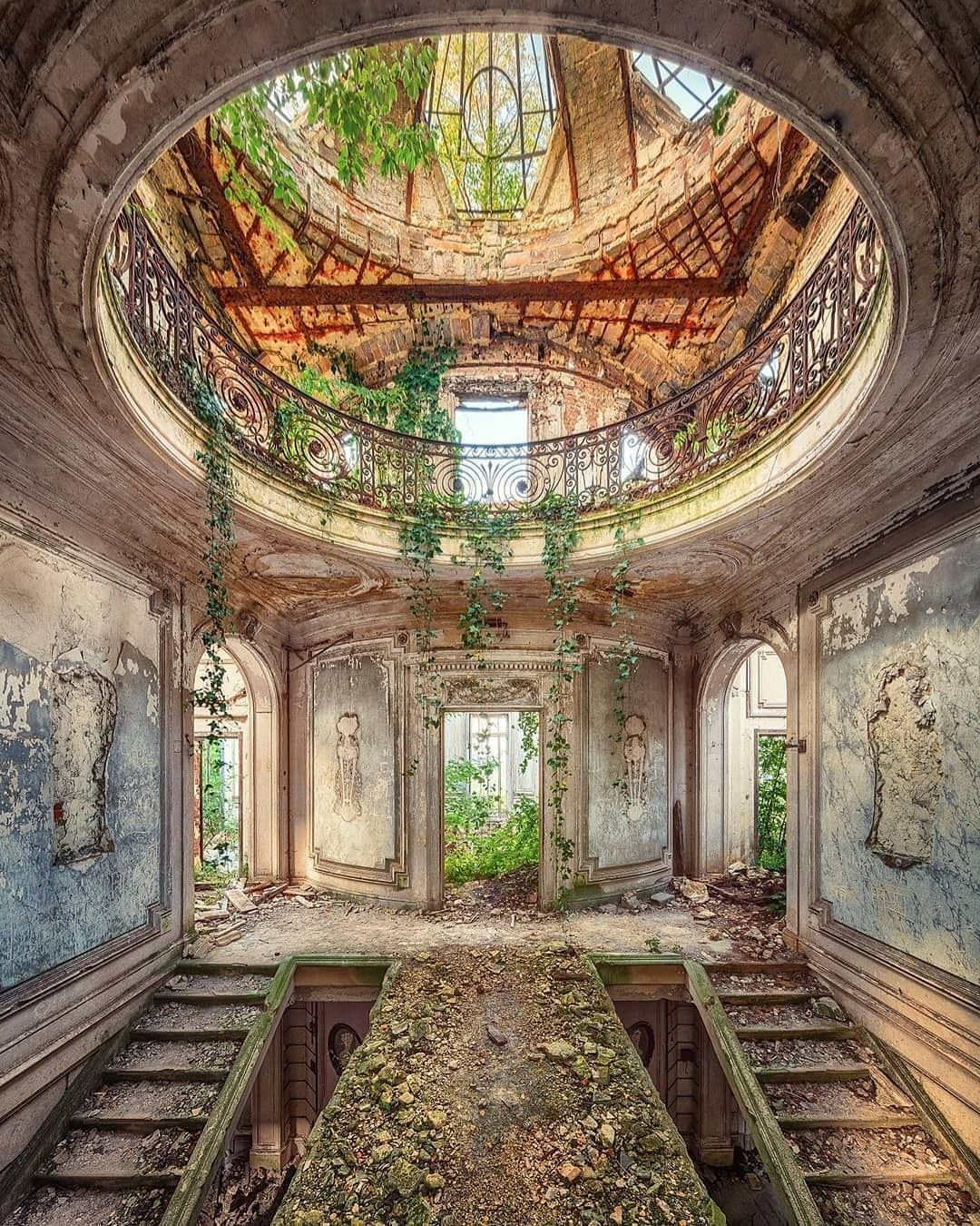 "Deserted Places On Instagram: ""Abandoned Villa In Italy"