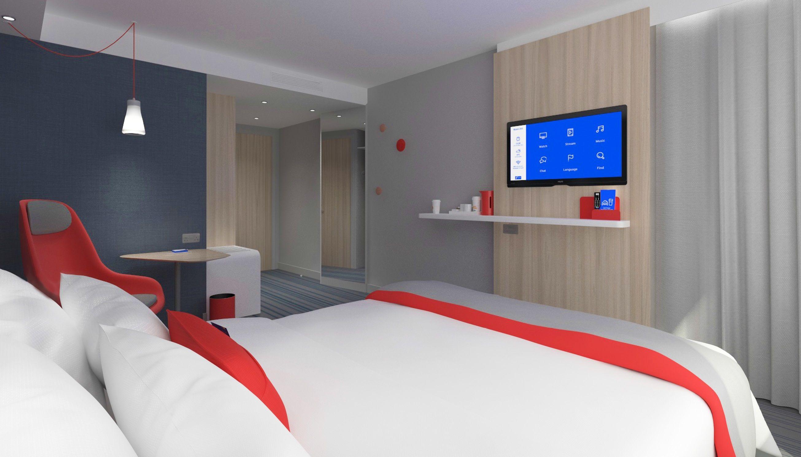 Holiday Inn Express Istanbul Atakoy Metro Otel Holiday Inn Express In Yeni Konseptinden Gelen Modern Tasarimi Ve Dinamik Renkleriyle Buyuluyor Simdiden Buyu