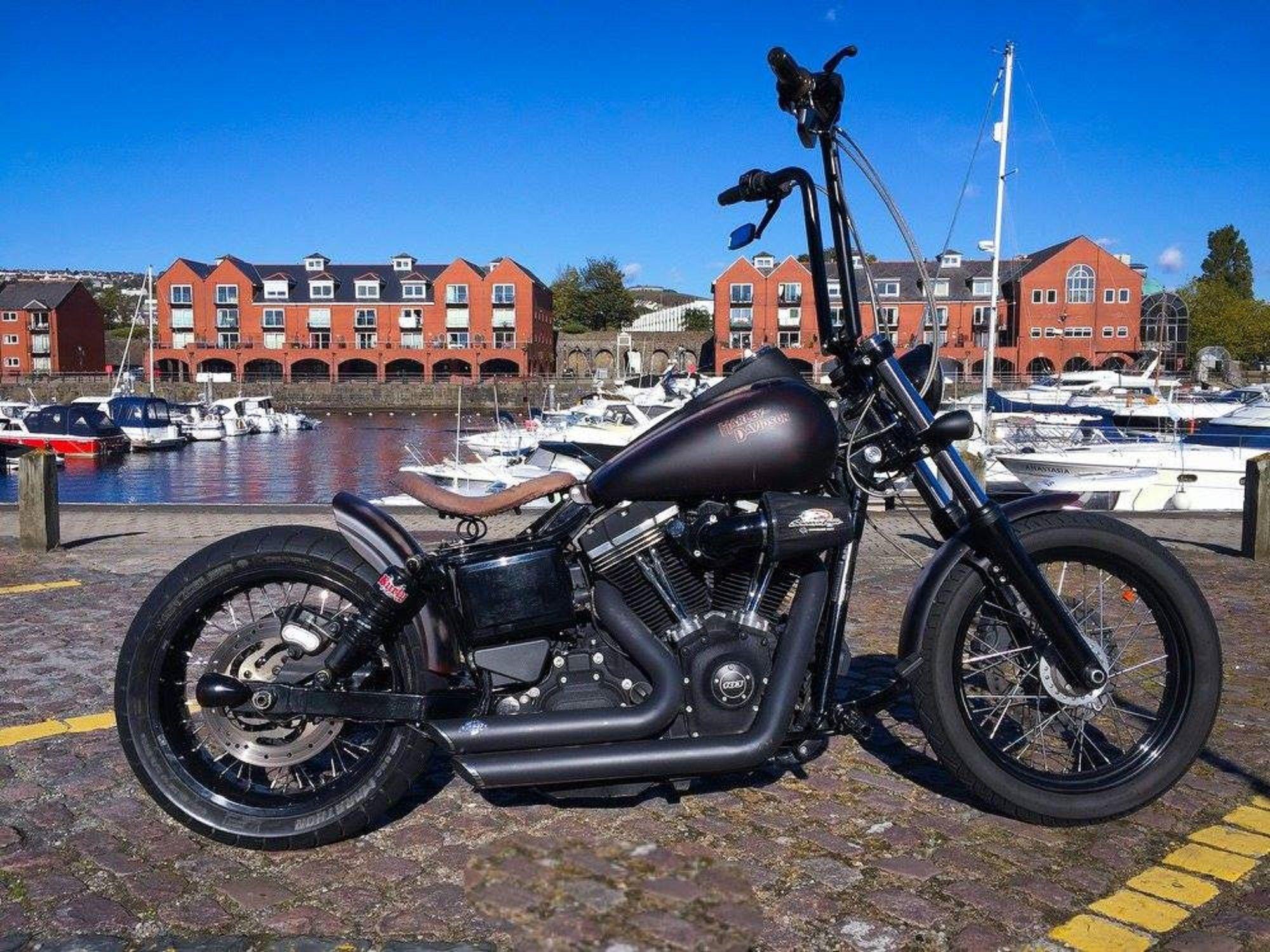 2013 Harley-Davidson Dyna Street Bob 1690cc Custom, recently being ...