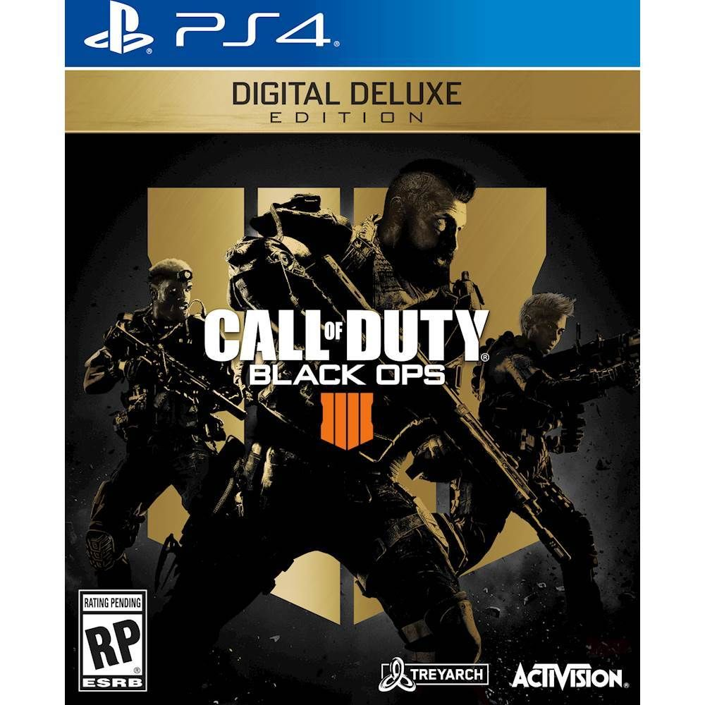 Call Of Duty Black Ops 4 Digital Deluxe Edition Playstation 4