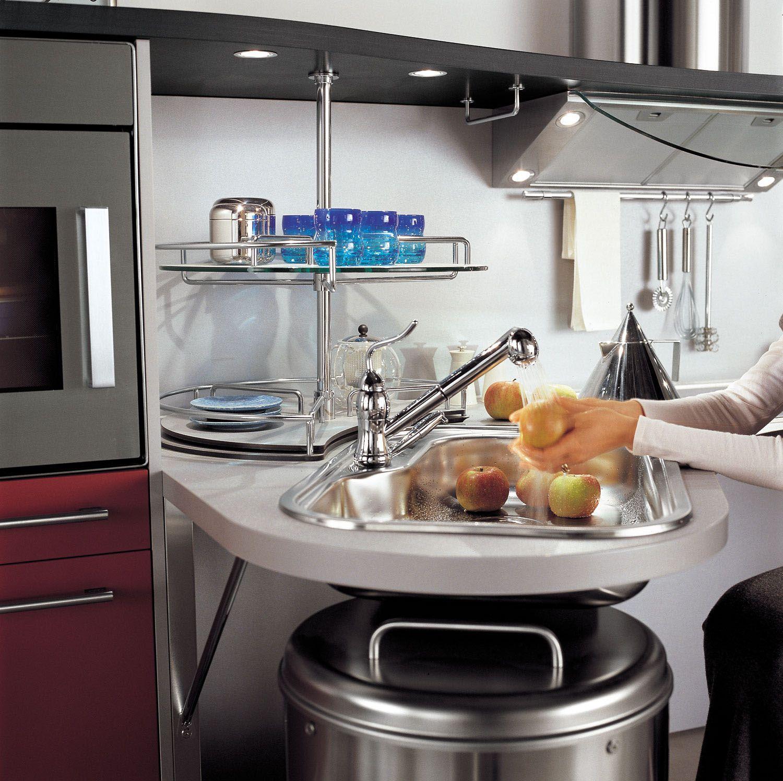 Ergonomic Italian Kitchen Design Suitable For Wheelchair Users Entrancing Kitchen Models Design Inspiration