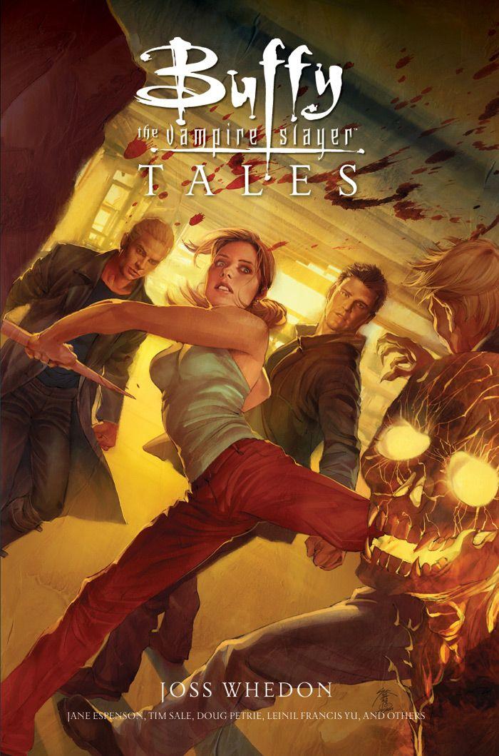 Buffy the Vampire Slayer: Tales, cover art by Jo Chen