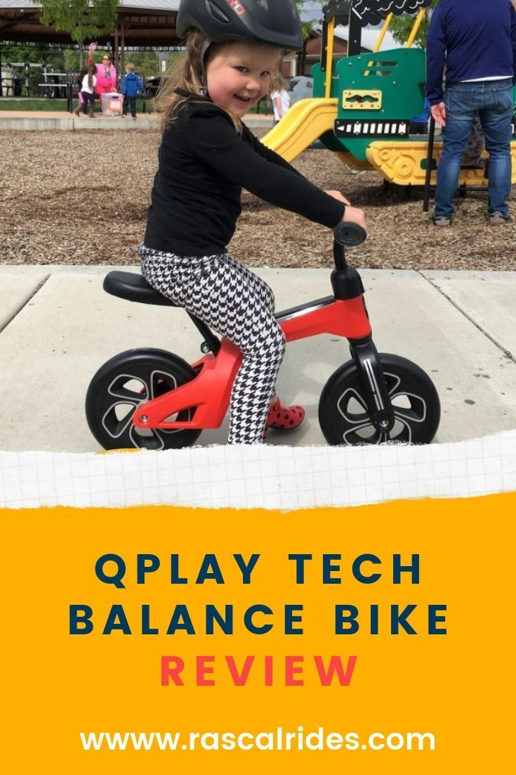Qplay Tech Balance Bike Review Bike Reviews Balance Bike Bike