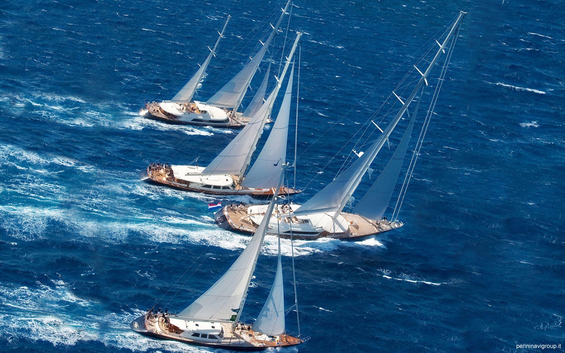 Perini Navi Cup Boat, Sailing, Power boats