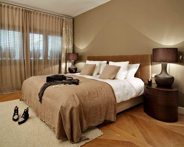 20 Dormitorios En Tonos Tierra Calidos Y Acogedores A Mas No Poder Dormitorios Colores Para Dormitorio Diseno Interior De Dormitorio