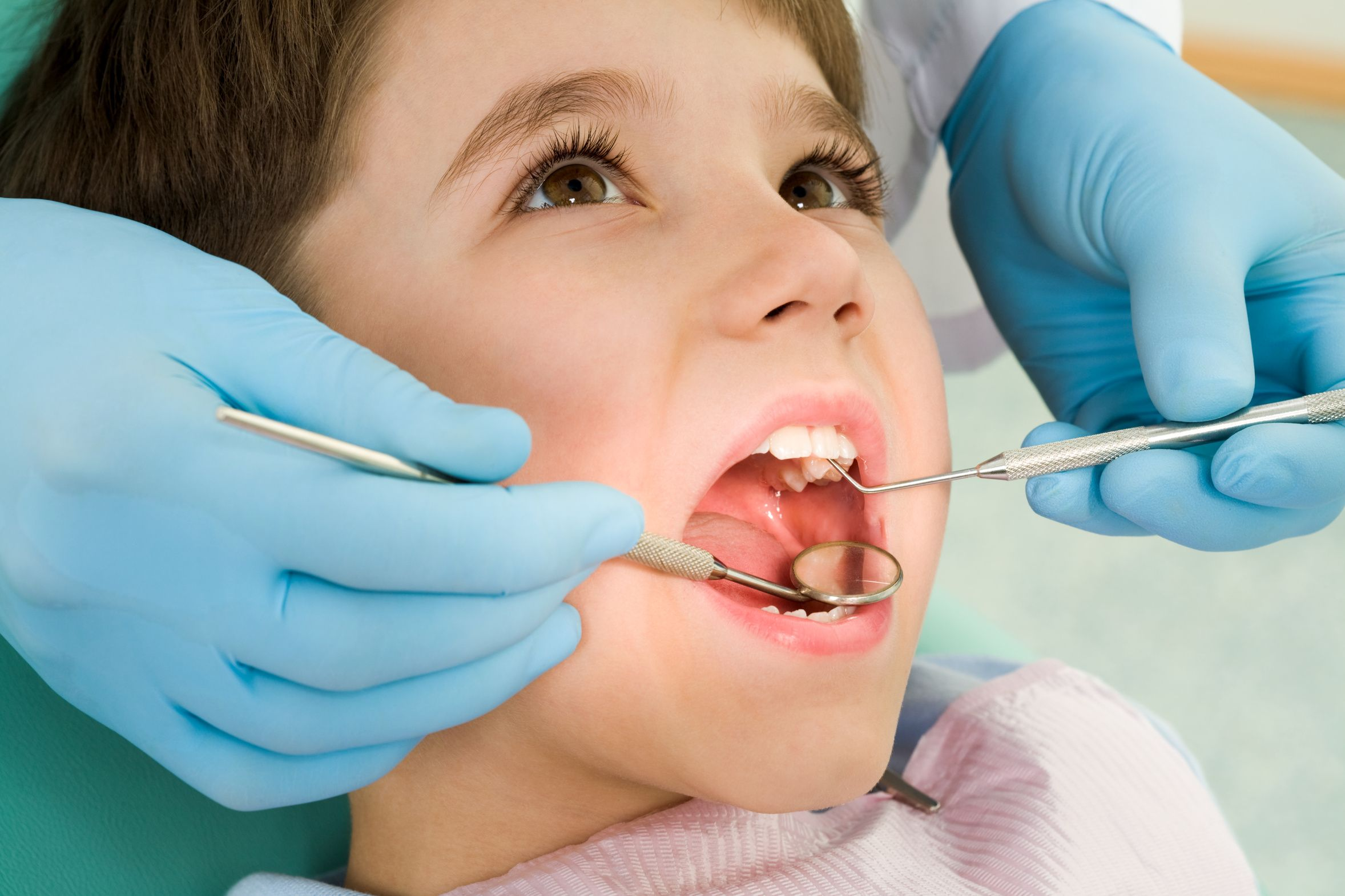 Visits to a dentist by children as young as 2 years of age, is important in  order to detect any problems in… | Dental sealants, Dental treatment,  Sedation dentistry
