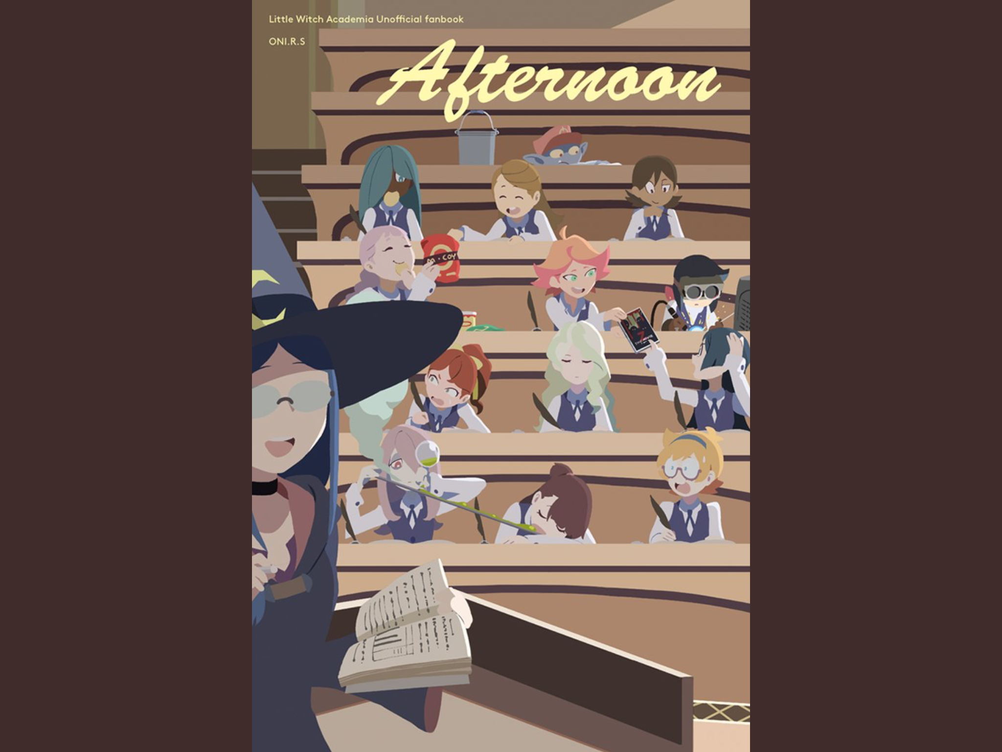Pin by Sophia on Little Witch Academia Witch