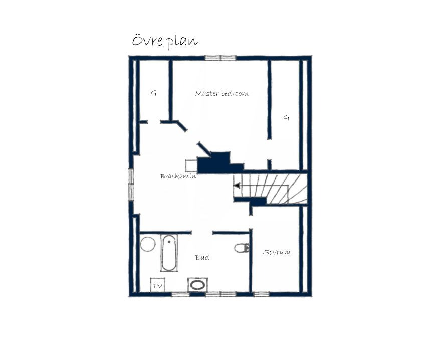 House 4 - the gardeners house - blueprint (my favorite so far)