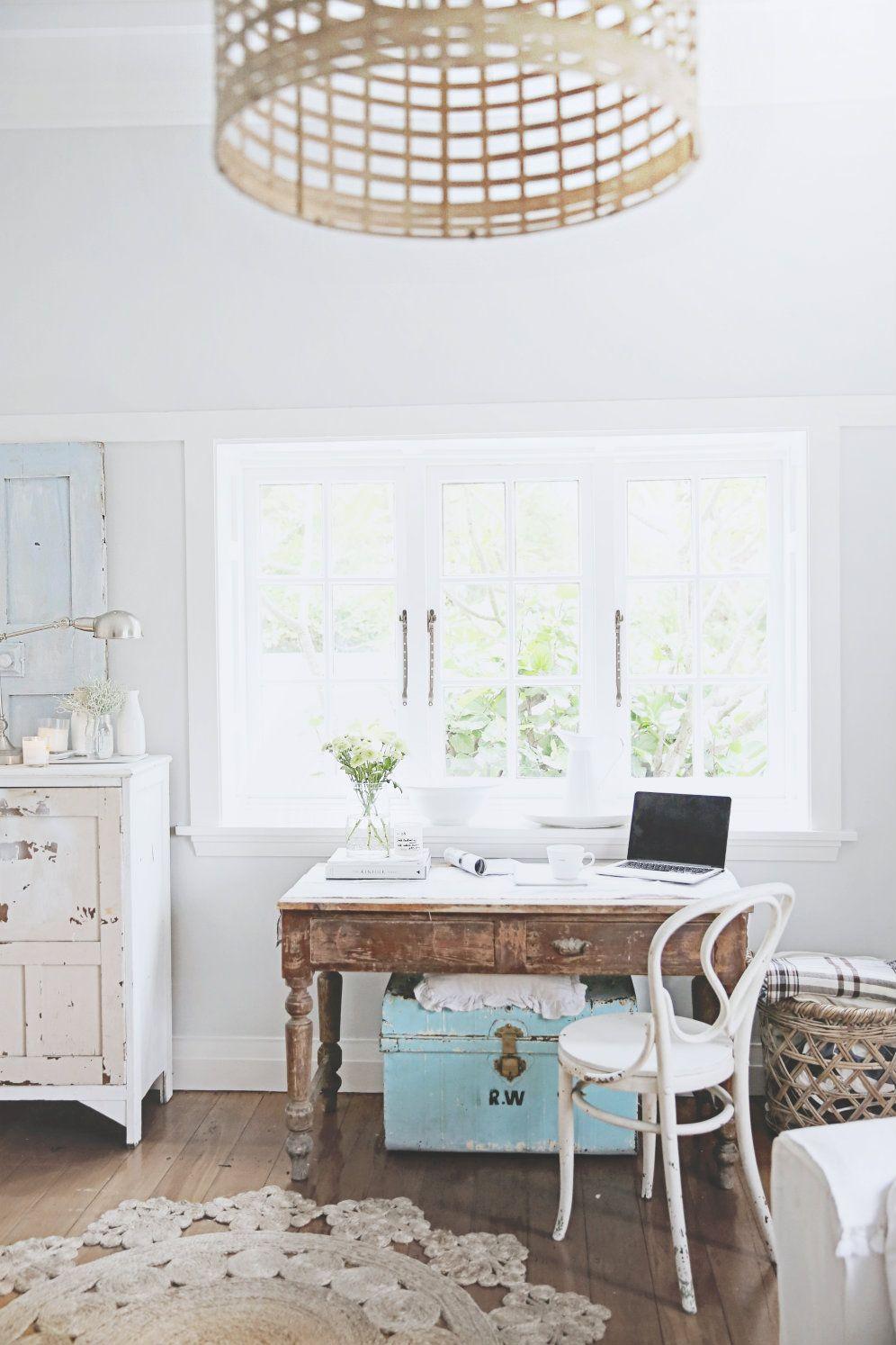 Vintage Desks After The Storm Beach Cottage Decor Home Interior