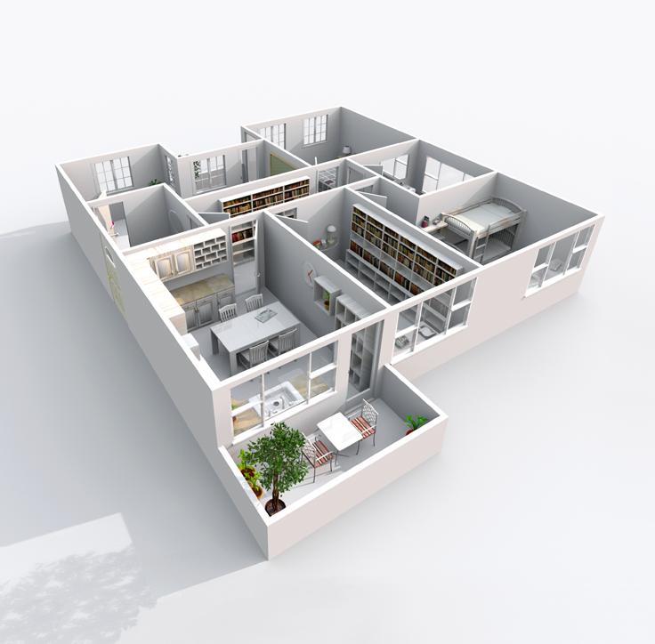 Gratis 3D Roomplanner - Interieur ontwerpen, Ontwerp en Interieur