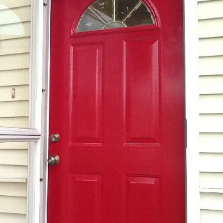 Benjamin Moore Caliente Paint On Front Door Home