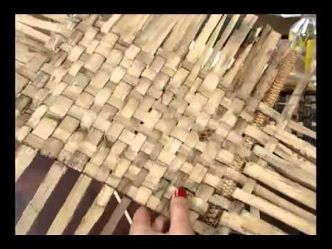 20120502 Jogo Americano Com Fibra De Bananeira 2 Baskets Boxes Crafts I Am Awesome