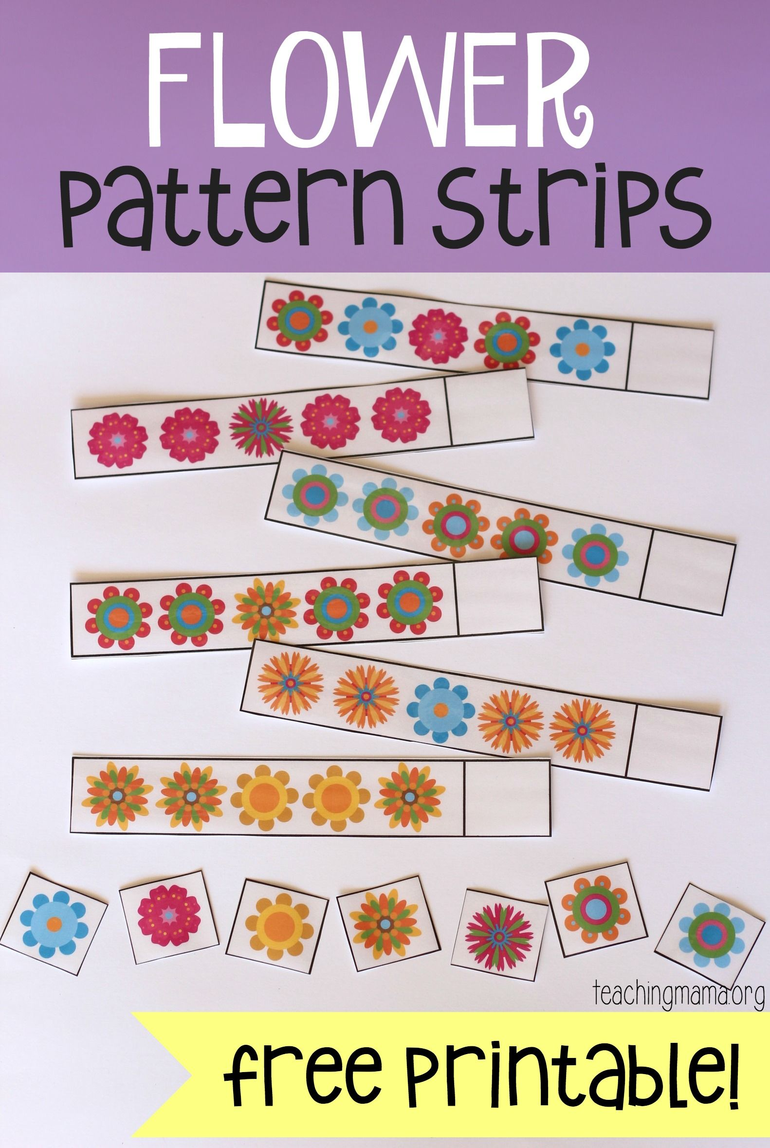 Flower Pattern Strips