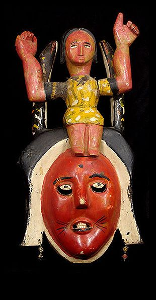 Mami Wata is a spiritual being celebrated throughout Africa