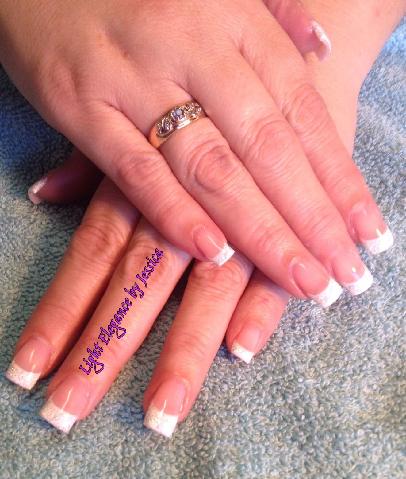 Light Elegance Gel Nails by Jessica in Salem Oregon. Classic pink ...