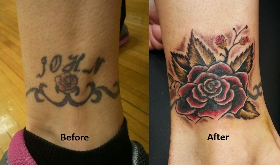 Kaji Tattoo Small: Cover Up Tattoos