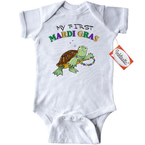 inktastic Mardi Gras Princess Baby T-Shirt