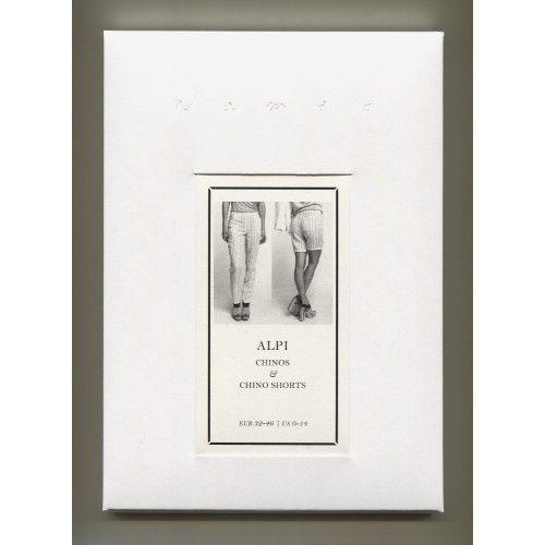 Schnittmuster: Alpi Chinos & Shorts - edle Verpackung