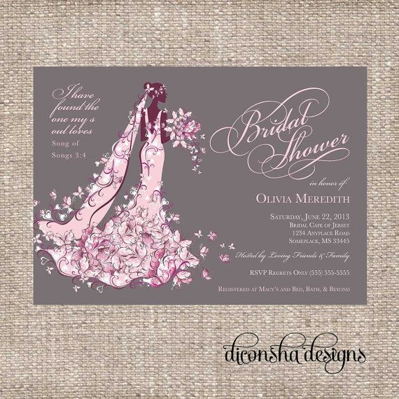 elegant christian bridal shower invitation printable shower invitation on etsy 1500 christian bride