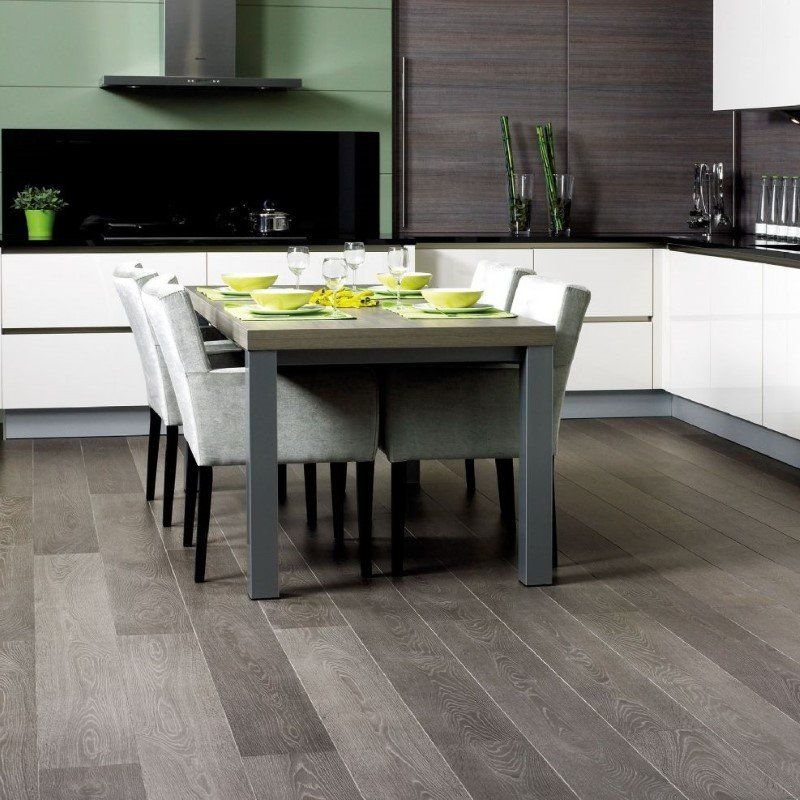 Quickstep Grey Vintage Oak Laminate Flooring Grey Laminate Flooring Oak Laminate Flooring Kitchen Flooring