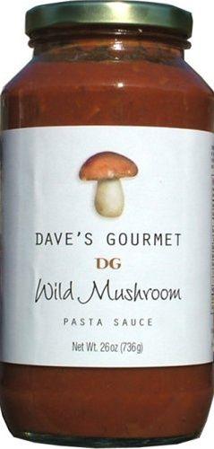 Dave's Wild Mushroom Pasta Sauce - 26 oz $7.89