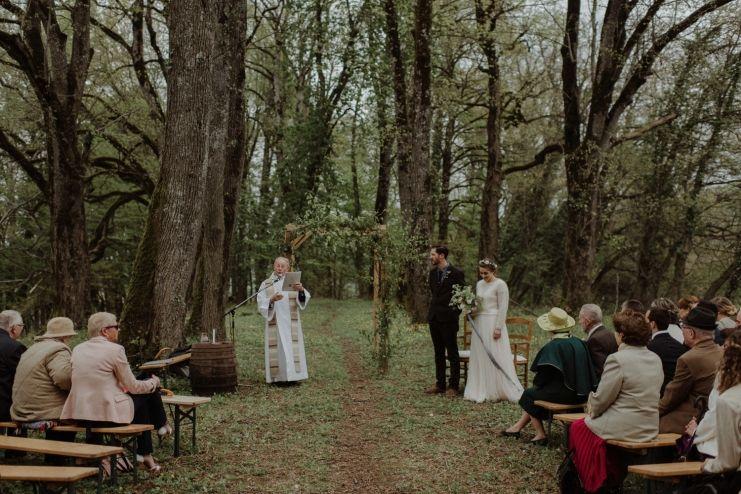 Marina Robby Outdoor Wedding In France