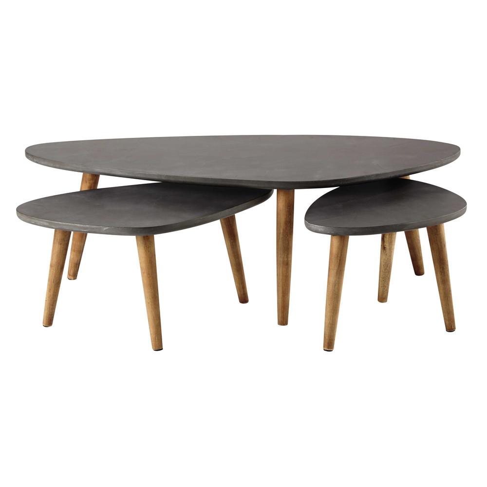 Tables Gigognes Grises Déco Appartement Furniture Furniture