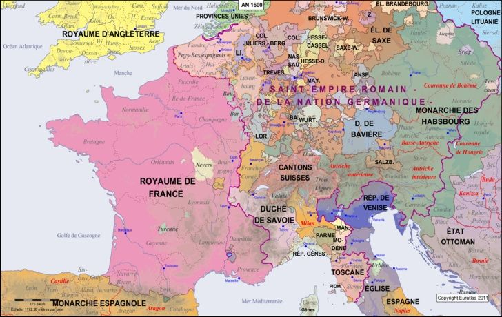 Map of the pyrenees rhine in the year 1600 world maps pinterest map of the pyrenees rhine in the year 1600 publicscrutiny Image collections