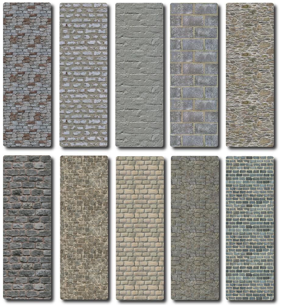 Sims 4 Old Brick Wall Collection Old Brick Wall Old Bricks Brick Wall
