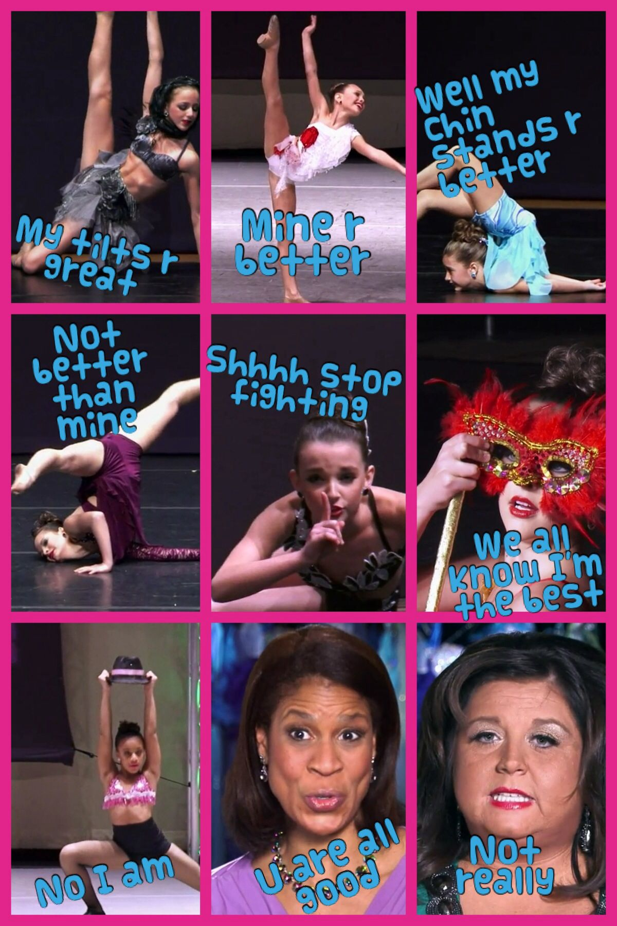 Abby Is So Mean Dance Moms Dancers Dance Moms Funny Dance Moms Facts