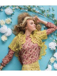 Roslind Shrug; Kathryn White; Interweave Crochet Spring 2015. | InterweaveStore.com