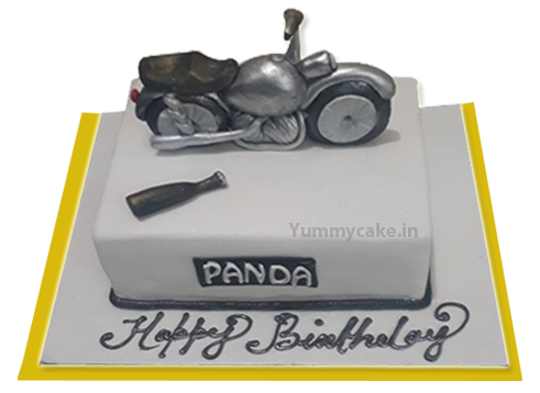 Bullet Cake Royal Enfield Bullet Cake for Birthday from