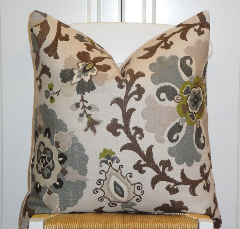 Beautiful Decorative Pillow Cover 20 X 20 Floral
