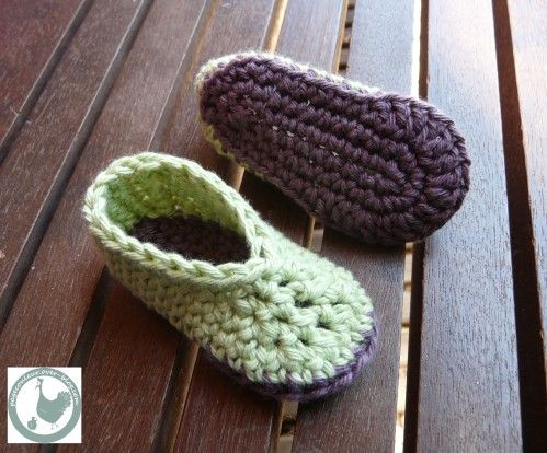 slippers-crochet chart